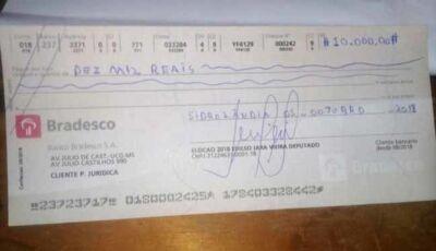 Candidato paga cabos eleitorais com cheques calote vira caso policial
