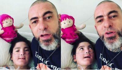 Henrique Fogaça desabafa sobre cirurgia de nove horas que filha passou