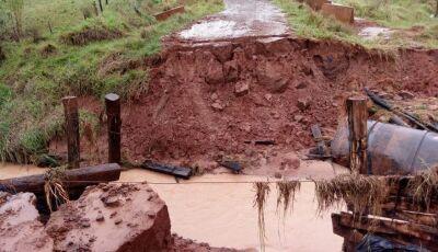 Mais uma cidade de MS decreta situação de emergência devido aos estragos provocados por chuva