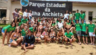 Fatimassulenses, alunos do Vicente Pallotti fazem curso de biodiversidade marinha em Ubatuba (SP)