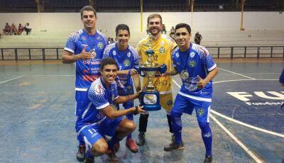 Fatimassulenses são campeões da 1ª Copa Abevê de Futsal pela equipe do Despachante Mato Grosso