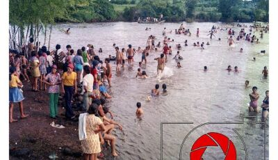 FOTOS DO DIA: Década de 1970, Diversão na Ilha do Sol em Fátima do Sul