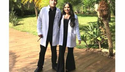 Filhos do vereador Jairo de Fátima do Sul serão futuros médicos