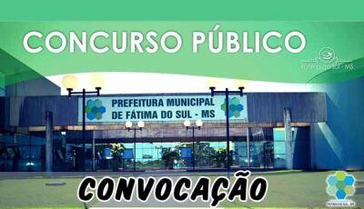 Prefeitura de Fátima do Sul convoca aprovados em Concurso Público