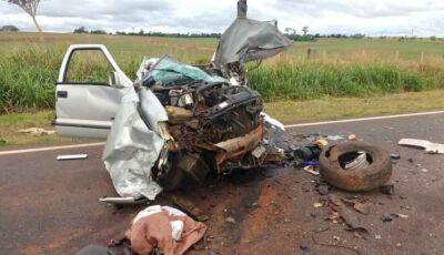 Grávida, sobrinha de vereador morto em acidente na BR-163 sai ilesa de colisão