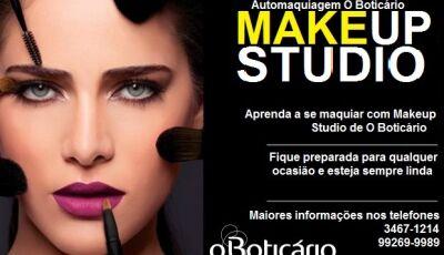 FÁTIMA DO SUL: O Boticário abre inscrições para o último curso de automaquiagem Makeup Studio do ano