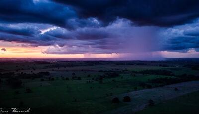 Vicentina fecha mês de outubro com marca de 550 milímetros de chuva