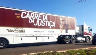 Carreta da Justiça realiza primeiro tribunal do júri da comarca de Jateí