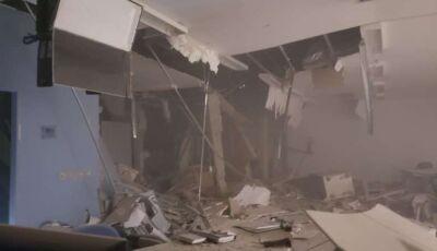 Bandidos fortemente armados explodem duas agências bancárias em MS