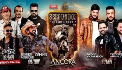 """""""Rodeio 8 Segundos"""" vai agitar a capital e tem Fernando e Sorocaba como atração"""