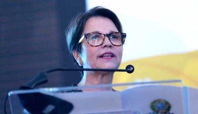 Tereza Cristina Dias do MS é confirmada para ser ministra