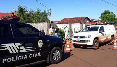 """Em 10 equipes, Energisa faz arrastão no combate ao """"gato"""" em Fátima do Sul"""