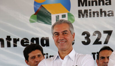 Governador autoriza nesta 2ª-feira construção de 196 casas no norte de MS