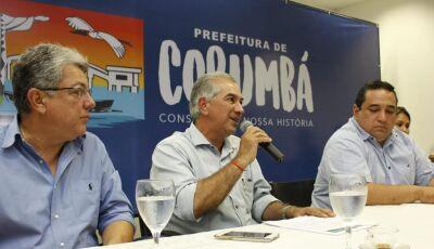 Reinaldo Azambuja reafirma compromisso com demandas de Corumbá e Ladário