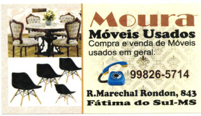 Confira as Novidades  de Móveis semi novos em Moura Móveis Usados de Fátima do Sul