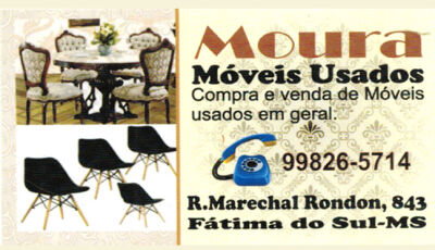 Promoção esta semana de Móveis semi novos em Moura Móveis Usados de Fátima do Sul
