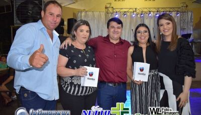 VICENTINA: Prefeito Marquinhos do Dedé faz festa para os funcionários municipais, VEJA AS FOTOS