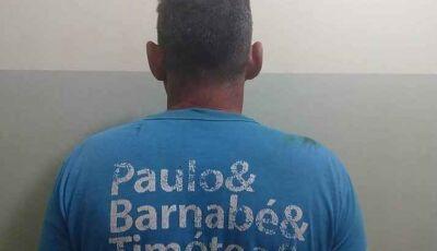 Força Tática prende foragido acusado de estupro de vulnerável ocorrido em 2013 em Fátima do Sul