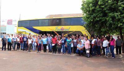 Fiéis de Fátima do Sul vão à Romaria de Santa Filomena em Douradina-MS