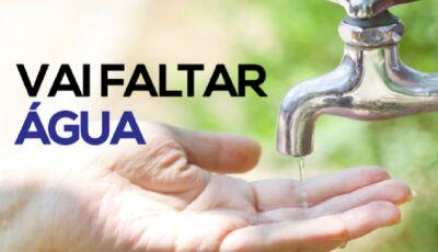 Sanesul informa bairros que vão faltar água nesta quinta-feira de feriado em Deodápolis