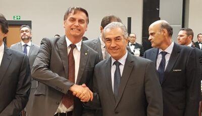 Em encontro de governadores com Bolsonaro, Reinaldo defende fronteira e reajuste da tabela SUS