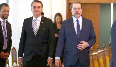 Bolsonaro vê com 'preocupação' aumento para ministros do STF