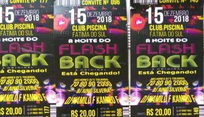 Noite do Flash Back acontece no Mandacarú em Fátima do Sul