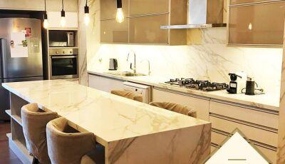 Em Dourados, Italínea com opções de móveis, acabamentos, cores e detalhes para você se inspirar