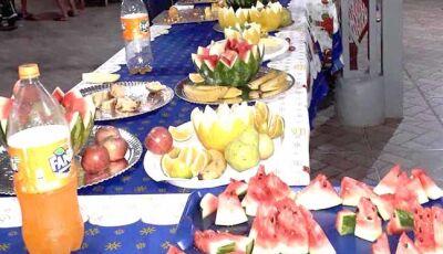 Grande festa de Natal no Lar dos Idosos da ILPI de Fátima do Sul