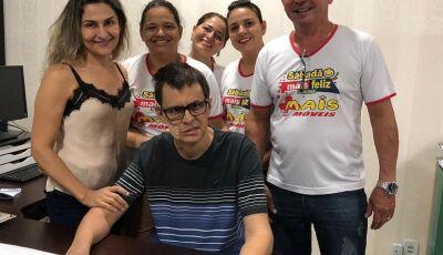 José Massariol faz surpresa e aparece na empresa, familiares agradecem orações em Fátima do Sul