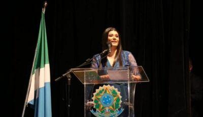 Em diplomação, Rose lembra de Culturama e elogia responsabilidade da gestão Reinaldo Azambuja