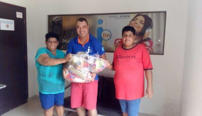 Pena Branca entregou 6 mil kilos de donativos as famílias carentes em Angélica e Deodápolis