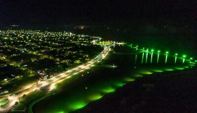 Fátima do Sul continua linda!, Veja algumas fotos aéreas registrada na noite de domingo