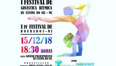 Fátima do Sul terá o I Festival de Ginástica Ritmica