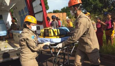 Criança de 12 anos morre no Hospital da Vida depois de ser atropelada na Vila Cachoeirinha