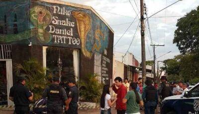 No intervalo de sete horas empresário, tatuador são assassinados em Ponta Porã