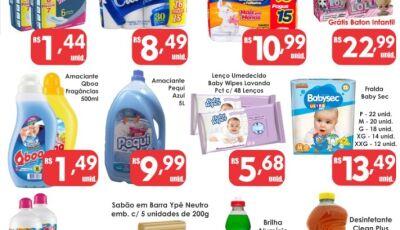 Mais uma SEGUNDA DA LIMPEZA do Mercado Julifran, confira as ofertas em Fátima do Sul