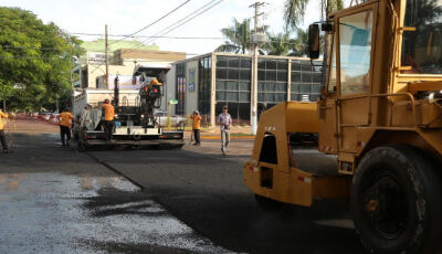 DOURADOS: Com investimentos de R$ 22 mi, principais avenidas são recapeadas e uma já está concluída