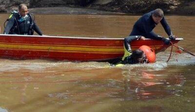 Bombeiros localizam o corpo do homem que sumiu na pescaria