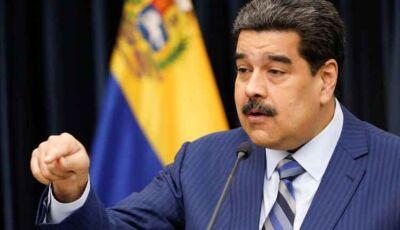 Maduro denuncia 'plano' dos EUA e Brasil para assassiná-lo