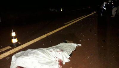 Motorista morre em capotagem na MS-165