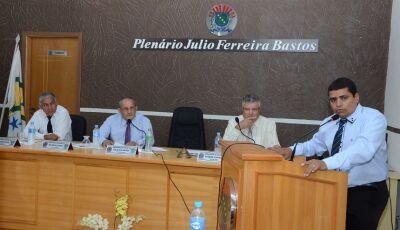 Campeão de mandatos, Duda é reeleito pela 5ª vez como presidente da Câmara de Vicentina