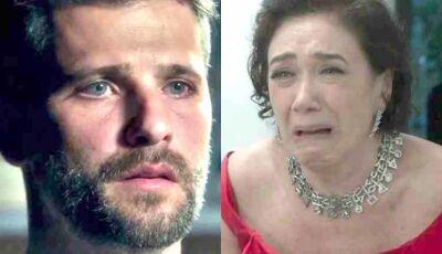 """Gabriel confronta Valentina em """"O Sétimo Guardião"""""""