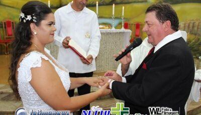 Veja as FOTOS do Casamento de Eneida e Davi em VICENTINA