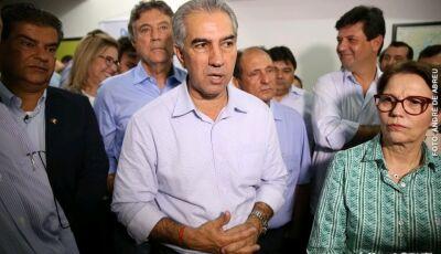 Reinaldo conversa com futura ministra para levar água e estradas para assentamentos em MS