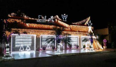 Família Verona mantém tradição e espírito natalino renovado com decoração em Deodápolis
