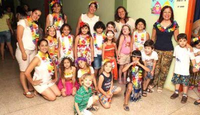 Alegria e divertimento marca a Noite do Pijama do Reino do Saber de Fátima do Sul