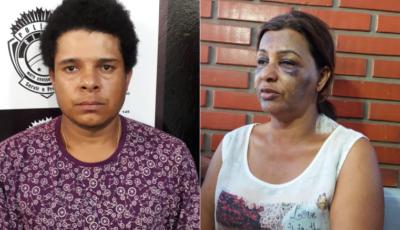 Polícia prende acusado de agredir e esfaquear idosa em assalto