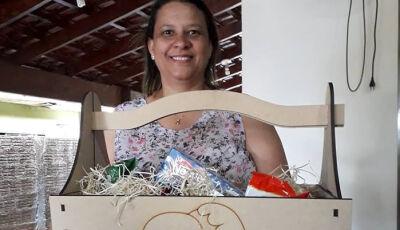 Marquinhos do Dedé inova mais uma vez e cesta padronizada é entregue aos funcionários em Vicentina