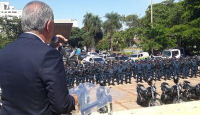 Operação terá policiamento aéreo na Capital e no interior avisa Reinaldo Azambuja